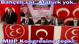 MHP Kongresinde Atatürk resmi neden asılmadı?