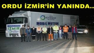 Ordu Büyük Şehir'den İzmir'e yardım eli..
