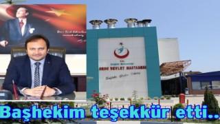 Ordu Devlet Hastanesine 17 yeni doktor atandı..
