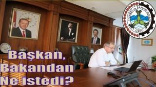 OTSO Başkanı Şahin, Ordu'nun sorunlarını bakana anlattı..