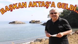 Perşembe'ye Başkan geldi, Aktaş'a Restaurant gelecek..