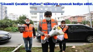 ALTINORDU BELEDİYESİ LÖSEMİLİ ÇOCUKLARI UNUTMADI..