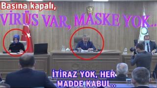 Mecliste ilçe Belediyelerinin bütçesi kabul edildi..