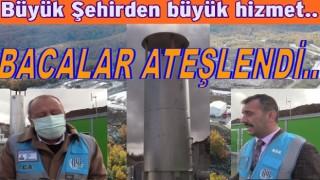ORDU'DA ÇÖPTEN ELEKTRİK ÜRETİMİ BAŞLADI..