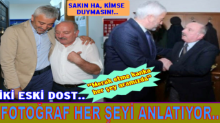 AKP'li başkanla eski dost olan CHP İl başkanından yeni senaryolar..