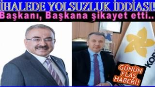 AKP'lilere ve Muhtara Pazar yeri otopark ihalesi!..