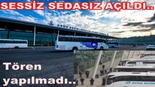 Altınordu şehirler arası otobüs terminali hizmete açıldı..