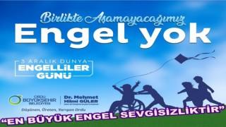 Başkan Güler, Engelliler günü mesajı yayınladı..