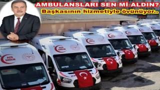 AKP İl başkanı Tomakin, Sağlık Müdürlüğünün haberi ile övünüyor..