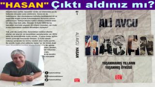 Ali Avcu'nun kitabı, HASAN şimdi tüm kitapçılarda!