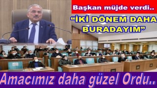 """Başkan Hilmi Güler, """"Amacımız daha güzel bir Ordu"""""""