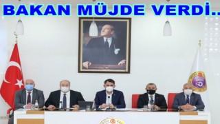 Çevre Bakanı geldi, çeşitli projeler açıkladı..