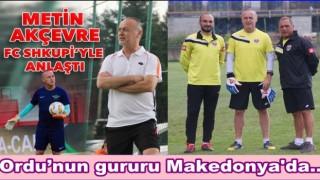 Metin Akçevre FC Shkupi'yle 1,5 yıllık anlaşma yaptı..