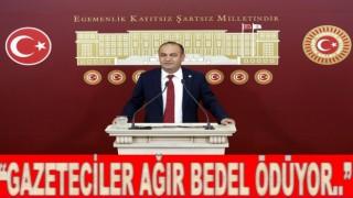 """Özgür Karabat, """"Basını özgür olmayan ülke ağır yara alır.."""""""