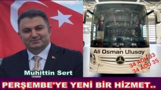 Perşembe-İstanbul arası yeni otobüs seferleri hizmete girdi..