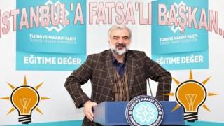 AKP İstanbul İl başkanı Fatsa'lı Kabaktepe oldu..