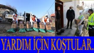 Belediyelerden Karantinaya alınan Mahallelere yardım yarışı..