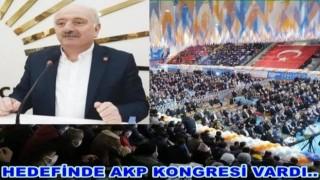 CHP İl başkanı Atila Şahin, AKP kongresini eleştirdi..