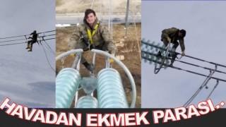 Gölköy'ün gençleri Hayatlarını kazanmak için havada çalışıyor..