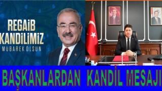 """İSLAM ÂLEMİNİN REGAİB KANDİLİ'Nİ TEBRİK EDİYORUZ"""