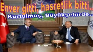 NUMAN KURTULMUŞ AKŞAMDAN GELDİ..
