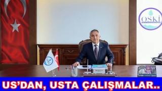 OSKİ ATIK SU ARITMA TESİSLERİ KURUYOR..