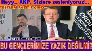 AK Parti gençlik kolları başkanı Koronavirüs'e yakalandı.
