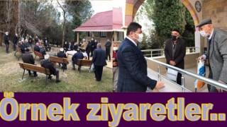 BAŞKAN TÖREN, KIRSAL MAHALLELERİ İHMAL ETMİYOR..