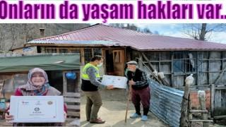 BÜYÜK ŞEHİRDEN YAŞLILARA ANLAMLI VEFA..