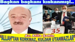 CHP İL BAŞKANI ŞAHİN'DEN KARANTİNA ÇAĞRISI..