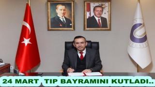 Rektör Prof. Dr. Ali Akdoğan 14 Mart tıp bayramını kutladı..