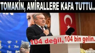 AKP il başkanı Halit Tomakin kendisini af ettirmeye çalışıyor..