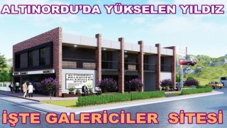 Altınordu Belediyesi oto galericiler sitesinin yapımına başlandı..