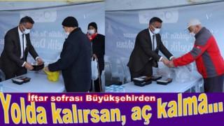 ORDU'DA YOLDA KALANLARA İFTAR YEMEĞİ..