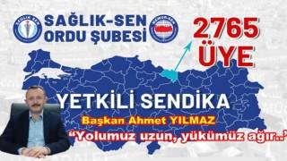 """Ahmet Yılmaz, """"3 yılda üye sayımızı yüzde 30 Arttırdık"""""""