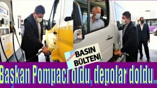 ALTINORDU BELEDİYESİ İLE ŞOFÖRLERİN YOLU AÇIK..