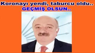 BAŞKAN ŞAHİN TABURCU OLDU EVİNE ÇEKİLDİ..