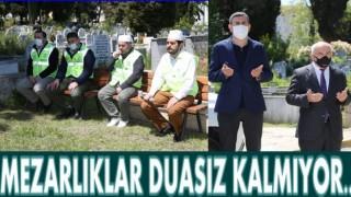 Bayram sonuna kadar Kur'an-ı Kerim okunup, dua edilecek..