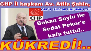 CHP'li başkan Atila'dan bakan Soylu'ya istifa çağrısı..