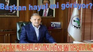 Başkan Servet Şahin, Ordu'yu yönetenlere teşekkür etti..