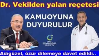 CHP'li vekil, Mustafa Adıgüzel, yalan ve iftiralarla suçlanıyor..