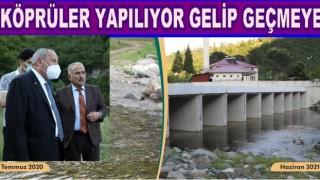 Perşembe Akçaova ırmağına köprü sorunu çözüldü
