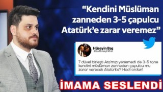 """""""Türk milleti ile Atatürk'ün arasını açamayacaklar"""""""