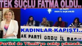 AK partili kadınlar, Fatma Yümlü'yü yalancılıkla suçladı..