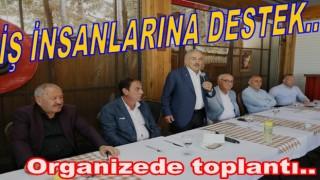 BAŞKAN GÜLER, ORGANİZE SANAYİ BÖLGESİNDE..