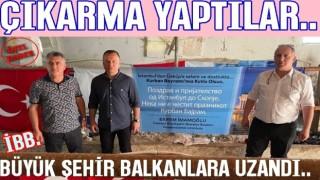 İBB Başkanı Ekrem İmamoğlu Balkanlar'da Kurban kesti..