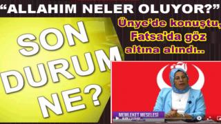 KADIN BAŞKANA İŞ YERİNDE POLİS BASKINI..