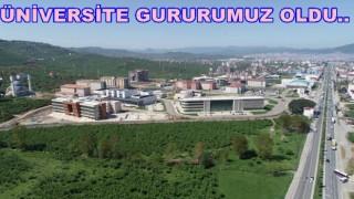 ORDU ÜNİVERSİTESİ BAŞARILARA İMZA ATIYOR..