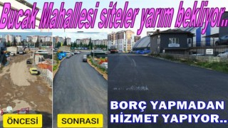HİZMET SAHİLDE BULUNAN MAHALLELERE KAYDIRILDI..