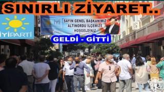 MERAL AKŞENER, ORDU'DA SİYASET YAPMADI, DERT DİNLEDİ..
